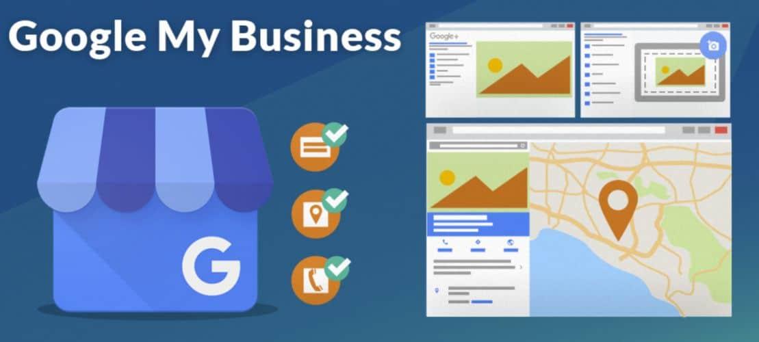 google my business Création entreprise