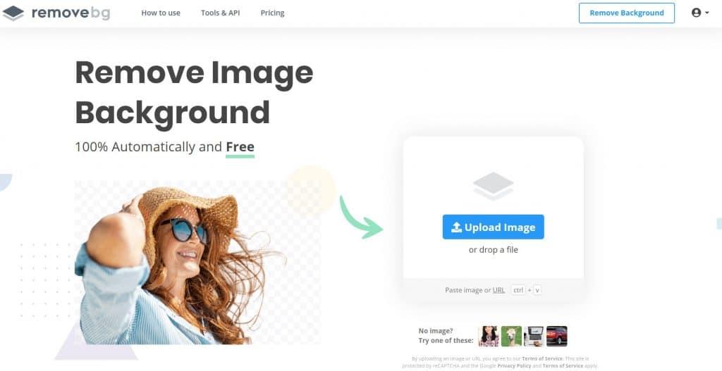 RemoveBg enlever fond image entreprise