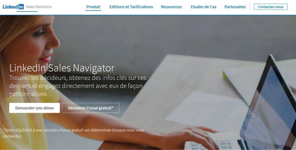 Sales Navigator outil