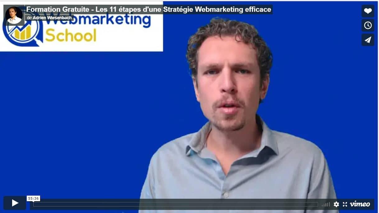 formation gratuite stratégie web