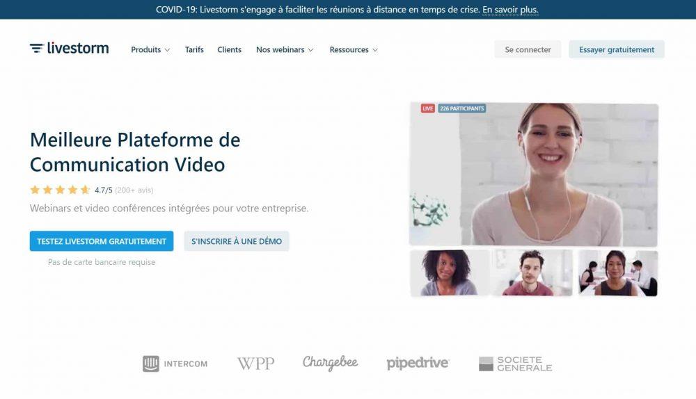 livestorm meilleure solution de webinaire