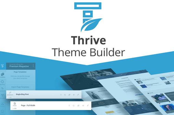 Test Thrive Theme Builder Essai