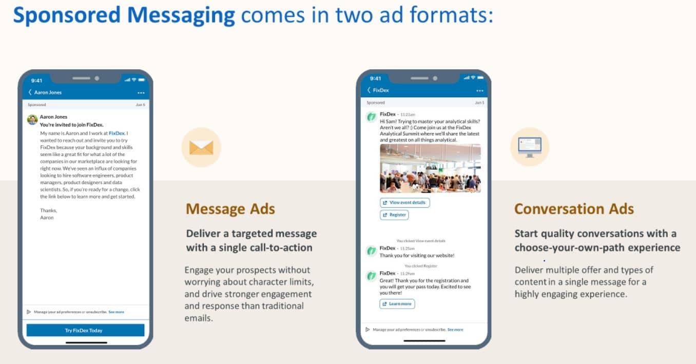 format conversation ads