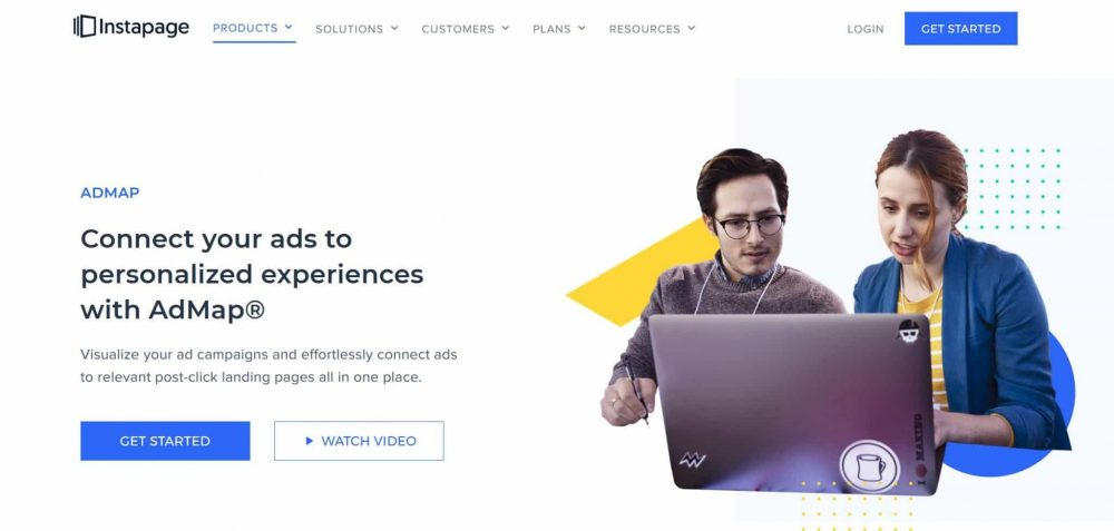 InstaPage outil landing page