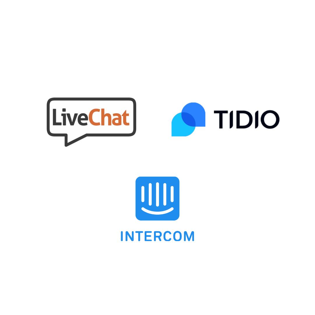outil de chat en ligne Tidio Live chat intercom avis