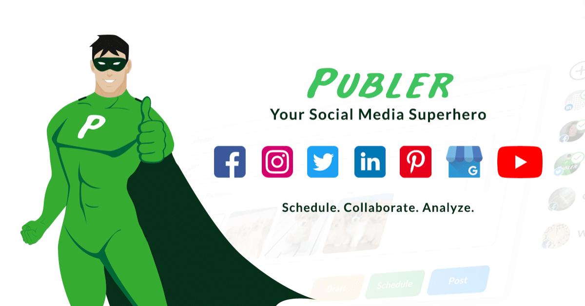 Outil Publer social media