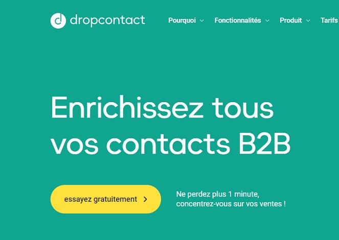 DropContact, outil BtOB l'emailing et votre CRM